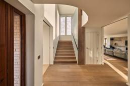 A home interior designed by Adrian James Architects, in the Cotswolds