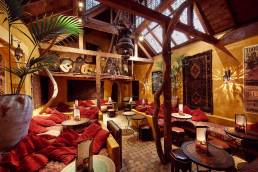Interior of the Kazbar restaurant in Oxford
