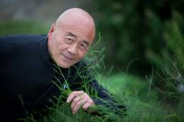 Ken Hom at Le Manoir in Oxfordshire