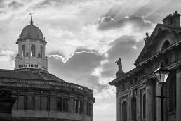 A view of Oxford's Sheldonian Theatre and Clarendon Building
