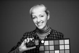 A portrait of photographer Vicki Churchill