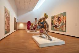 Jeff Koons exhibition at the Ashmolean Museum in Oxford