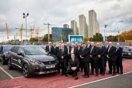 Group of drivers for the ATP finals from Peugeot