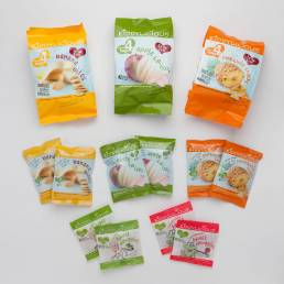 The range of kiddylicious products