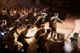 Theatre production of Reflections, a WW1 drama, at MCS Oxford