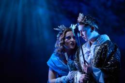Theatre production of a Midsummer Night's Dream, at Magdalen College School, Oxford