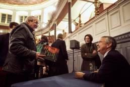 Thomas L Friedman, lecture and book-signing at the Sheldonian Theatre in Oxford