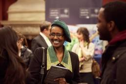 Winnie Byanyima, Africa Futures panel discussion, Oxford Martin School