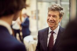Jeff Sachs at the Oxford Martin School