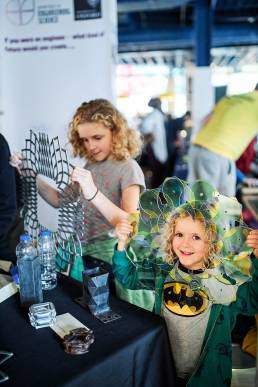 Children at the Oxford Science Ideas Festival at the Westgate Centre