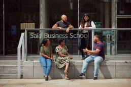 Students of Saïd Business School in Oxford
