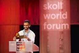 Skoll Awardee at the Skoll World Forum in Oxford