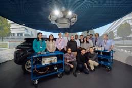 University of Warwick automated driving simulator