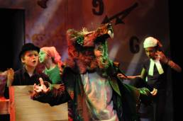 Theatre production of Rat Boy at the Pegasus Theatre in Oxford