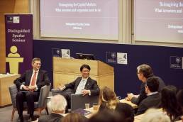 Hiro Mizuno's Distinguished Speaker Seminar at the Saïd Business School in Oxford